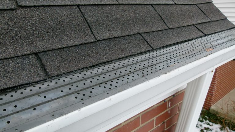 Ice Dams Gutter Guard Snow And