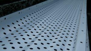 gutter rx gutter guard installed on 5 inch gutters