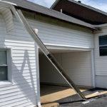 storm damage gutters roof soffit fascia